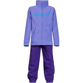 Bergans Smådøl Set Niños, light lavender/lavender/bright sea blue